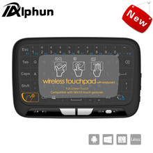 Alphun New H18 Wireless Air Mouse Full Touchpad mini keyboard 2.4GHz Gaming Touch pad For Smart TV PS3 TV Box PC Android Windows