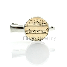 Antique tone Music Sheet Notes Silver Plated hairgrip music fans lovers hairpin women hair clip jewelry for Wedding & Party T213