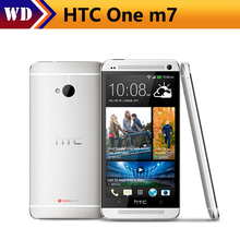 "HTC One m7 Mobile Phone Quad Core 4.7"" Touch Screen 2GB RAM 32GB ROM WIFI GPS HTC one M7 Android Smart Phone(China)"