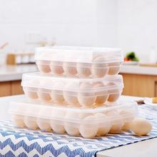 Single Layer Refrigerator Food Eggs Airtight Storage Container Plastic Box Romance House Kitchen Tools