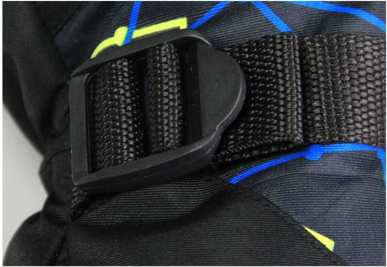 Men Women Ski Gloves Winter Waterproof Anti-Cold Warm Gloves Outdoor Sport Snow Sportswear Skiing Gloves 13