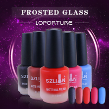 2017 Professional Cute Bottle 18ml Nail Art Makeup Cosmetics 40 Colors Pigments Stamping  Matte nail polishes