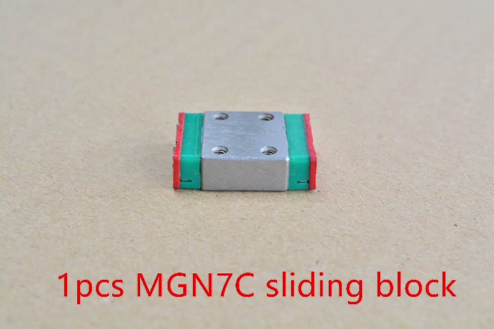 MGN7C or MGN7H linear bearing sliding block for with MGN7 linear guide for cnc xyz diy engraving machine 1pcs<br><br>Aliexpress