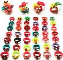 mini top hat headband Korean children's cartoon candy -colored rubber band hair accessories hair ring headwear headband