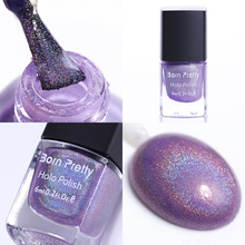 Born Pretty Holographic Holo Glitter Nail Polish Hologram Effect Varnish for Nails 9#(China)