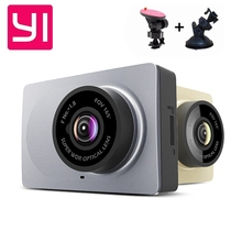Upgrade International Edition Xiaomi YI Smart Car DVRs camera Wifi wireless Xiaoyi ADAS dvr Camera Dash Cam 1296P/1080P 60fps
