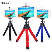 Kebidu Fashion Mini Flexible Octopus Bracket Selfie Tripod Phone Holder Stand Mount Monopod Styling Accessories For Smart Phone(China)