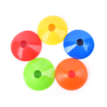5pcs/lot Cones Marker Discs Soccer Football Training Sports Entertainment Accessories(China)