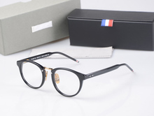 New York thom Brand Optical Reading Eyeglasses Men women TB008B acetate prescription spectacle Myopia Eye glasses Frame With Box(China)