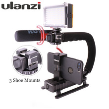 Ulanzi Travel Handle Grip Camera Gears Steadicam stabilizer Rig for Vlogging/Video Blog Recording Youtube Live for Nikon Canon