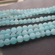 Free shipping 2Strands Natural Stone Beads 4mm SyntheticBlue Amazonite Round Beads  for jewelry making Fashion Accessoires