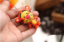 Caroon mini tiger u disk USB 2.0 usb flash drive memory stick pen drive u disk  gift 2GB 4GB 8GB16GB 32GB 64GB wholesale S310