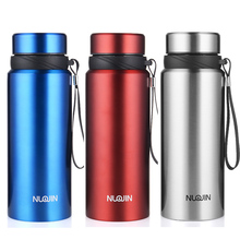 Upors 750ML Portable Double Wall Thermos Stainless Steel Insulated Water Bottle Vacuum Flask Thermoses Cup Travel Coffee Mug(China)
