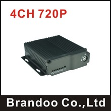 Inexpensive 4 channel MDVR for taxi,bus,truck used, Support VGA output, model BD-323, new arrival(China)