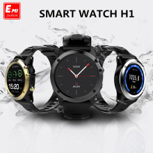 NEWEST H1 MTK6572 Bluetooth IP68 Waterproof Smartwatch with Camera SIM Support GPS/ WIFI Heart Rate Health Tracker Smart watches