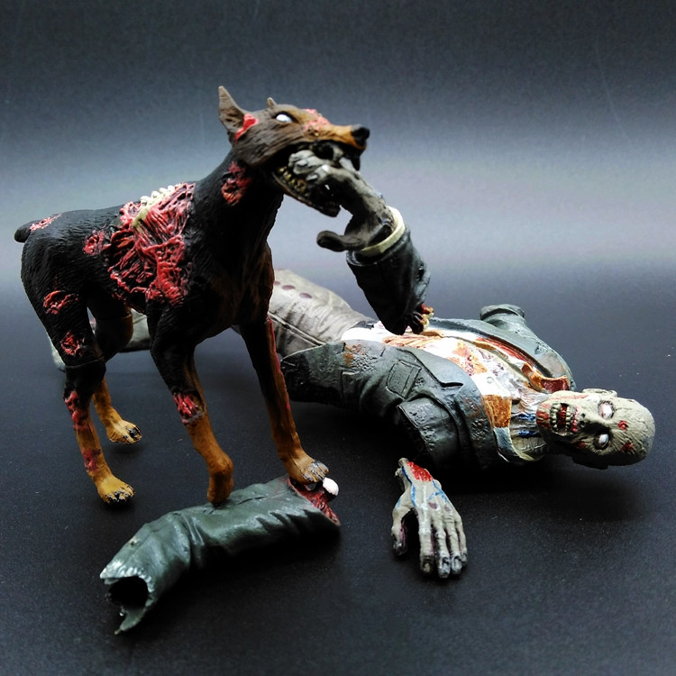 BIOHAZARD Action Figures Zombie Dog Pvc 180mm Anime Movie Resident Evil Collectible Model Toy Zombie<br><br>Aliexpress