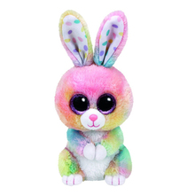 "Original 6"" 15cm TY Beanie Boos Big Eyes Bubby Multicolor Bunny Rabbit Plush Stuffed Animal Collectible Doll Toy Birthday Gifts"