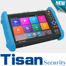 New 7 inch 1280*800 screen cctv tester H.265 4K H.264 Analog IP TVI CVI AHD camera tester in one cctv test monitor