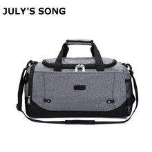 Men Women Fashion Hand Bill of Lading Shoulder Bag Large Capacity Travel Luggage Bag Business Single Shoulder Light Travel Bag(China)