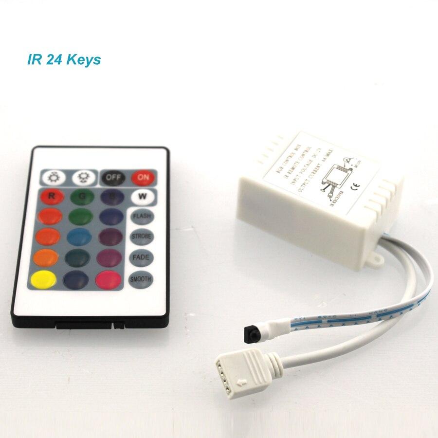 24 Keys / 44 Keys RGB IR/Mini Remote Controller DC12V Controller For SMD3528/5050 LED RGB Strip Lights Mini Controller (C)
