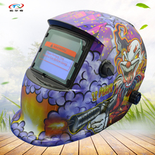 Clown Animal Monster Semi-automatic Welding Helmet Printing Battery Mask for Mig Arc Tig Welder Machine HD03(2233DE)(China)