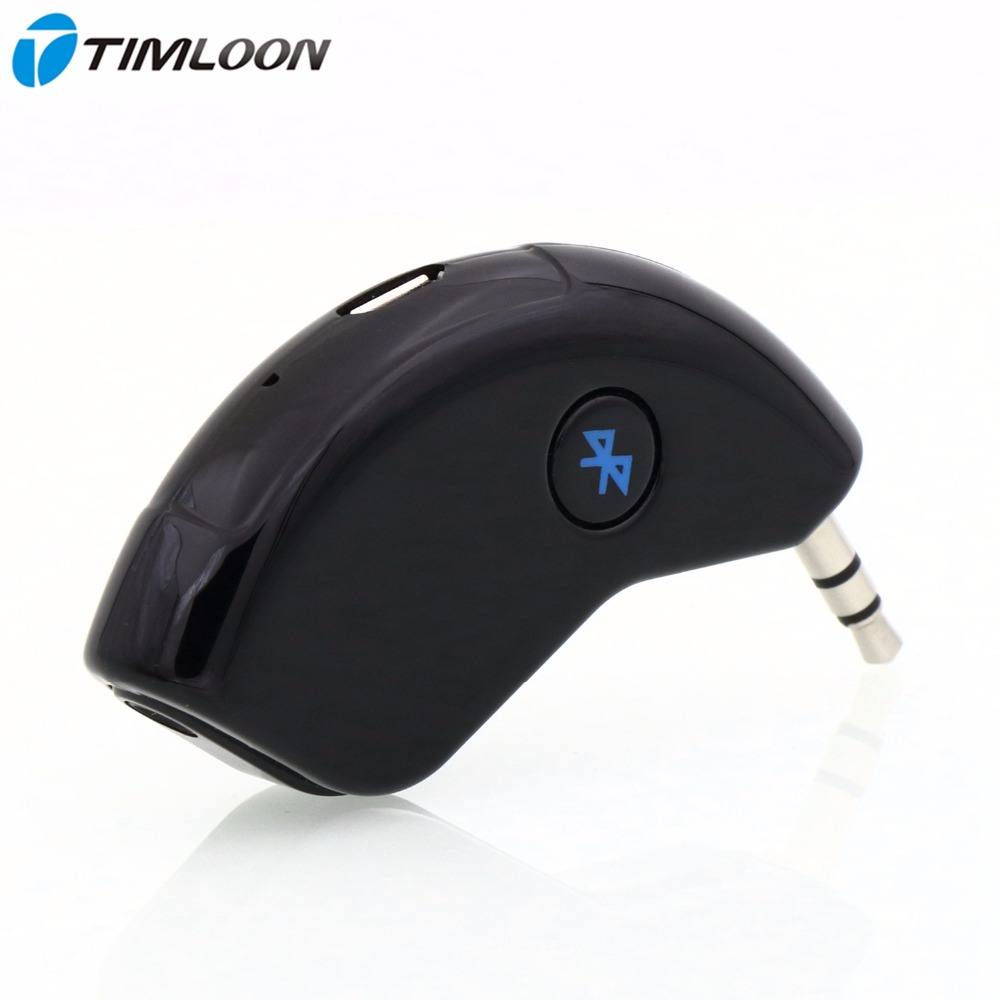 Super Mini Bluetooth Car Kit Bluetooth Receiver Hands-free AUX Output Adapter For Music and Mobile Phone<br><br>Aliexpress