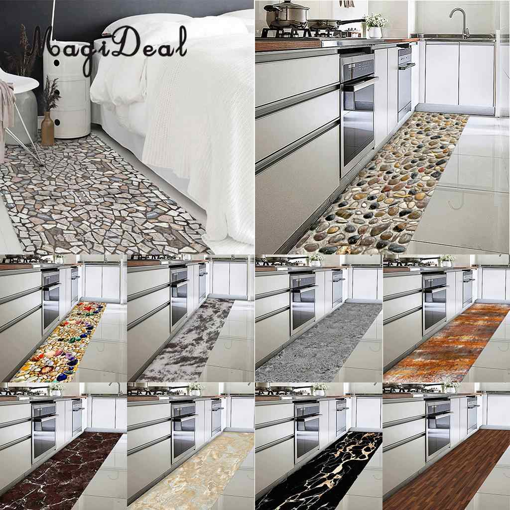 Magideal Waterproof Floor Sticker Self Adhesive Cobblestones