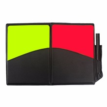 New Soccer Referee Supplies/Football red card / yellow card Referee / game appliances, with holster and pen  judge equipment