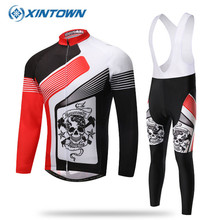 2017 Pro Sport Cycling Jersey Long Sleeve Men Ropa Ciclismo Breathable Mtb Bike Clothes Bicycle Clothing Red - Store store