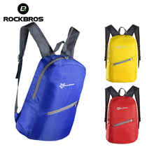 ROCKBROS Bike Leisure Outdoor Bike Bicycle Cycling Backpack Breathable Portable Folding Waterproof- Ultra-thin Bag 3 color(China)