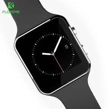 FLOVEME E6 Спорт Smart Watch Bluetooth Синхронизация Телефон Smartwatch Для Apple iPhone Huawei Xiaomi Android Наручные Часы Relogies Группа