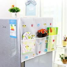 Fine  Sale Dual-purpose Refrigerator Dust Cover Multi-use Waterproof Pouch Storage Organizer Bag