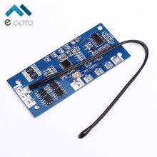 4S 8A 12.8V 18650 Lithium Iron Phosphate Battery Protection Board With LED Power Indicator Display