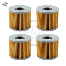 4 Pcs Motorcycle Engine Oil Filter case for Suzuki GS300L GS450G GS450E GS500E GS500F GS500 GR650(China)