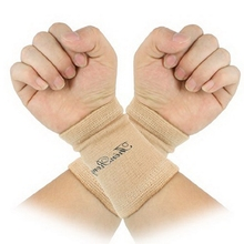 2pcs/set New Arrival Durable Pullover Design Assured Soft Textured Elastic Wrist Brace Support(China)
