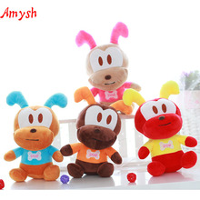 Amysh HOT 18CM New Arrival soft Cute creative ant Plush Toys ant Appease doll kawaii baby kids toy. Car ornaments gifts for kids(China)