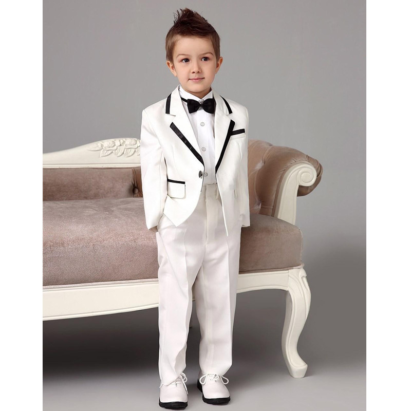 New-Arrival-White-Notch-Lapel-One-Button-Costume-Children-Suits-Handsome-Boy-Tuxedos-For-Wedding-Party