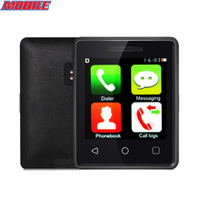 Super Mini cell phone MTK2502 1.54 Inch 2.5D screen Bluetooth 4.0 Quad Band multi language Mini Mobile Phone cellphone