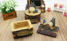 My Neighbor Totoro 12cm Ash Container Toys Home Decoration #1523 Action Figure Brinquedo Toy Kids Christmas Gift