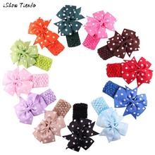 Headbands Hair Accessories Band For Toddlers Dot Bow Hairband Turban Knot Vendas Para El Cabello #2366