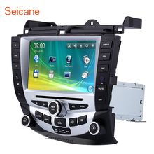 Seicane Car Radio Bluetooth DVD Player Stereo for 2003-2007 Honda Accord 7 GPS Navigation system with 1080P Video USB Audio(China)