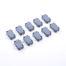 Easyget 10pcs 2Pin Microswitch Arcade Micro Switch For Arcade Button Joystick Part DIY & Arcade Game Machine Cabinet Accessories