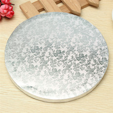 3 Sizes Round Cake Display Board Stand Holder Strong Base Wedding Birthday Party Events Home Bakery Cake Baking Tools Bakeware(China)