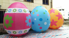 Free shipping 3m giant large inflatable easter egg decoration
