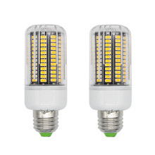 5733 Chip Aluminum Plate Lampada LED Lamp E27 220V 3W To 10W Corn Light Spot LED E27 Lamparas Bombillas LED Bulb Candle Luz E14(China)