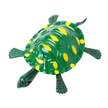 Children Pulling Line Small Toys Turtle Rabbit Lobster Crab Mouse Bee Bird Frog W15(China)