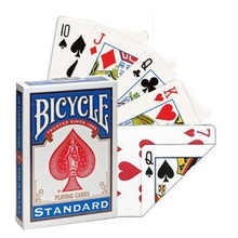 1 Deck Bicycle Double Face Number Playing Cards Gaff Standard Magic Cards Special Props Close Up Stage Magic Trick for Magician