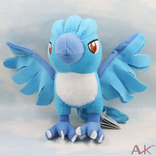 New Arrival cartoon Plush Toy 18cm Articuno Plush Toy cute Character Stuffed Animals kawaii Toys Doll for Kids Gift