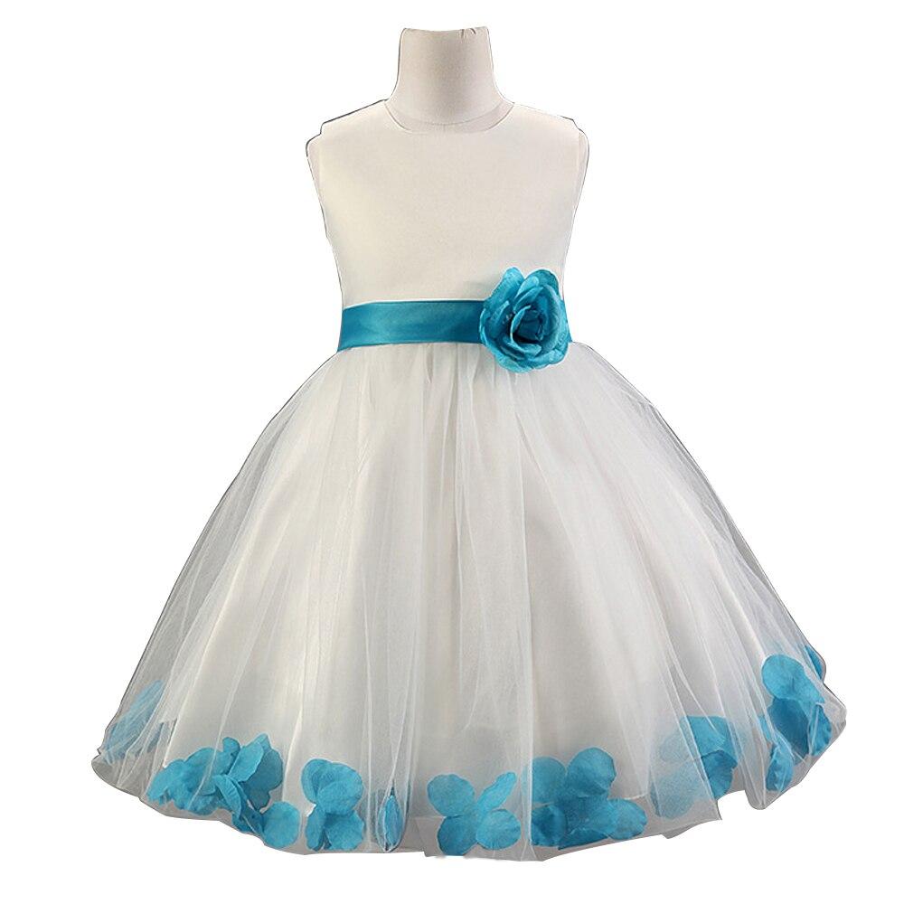 MIFASOO Bow Girls Dresses Formal Sleeveless Summer Flower Wedding Princess Dress Kids Party Clothes<br><br>Aliexpress