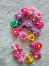 pet Accessories dogs Candy color cartoon animals sunflower lollipop hairpin bang clip hair head ornaments(China)